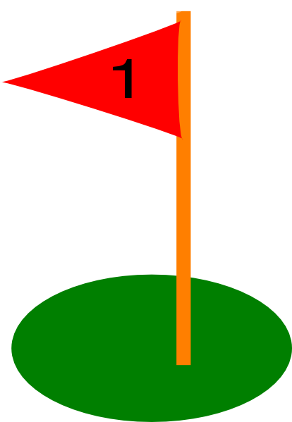 golf flag 19th hole clip art at clker com vector clip art online rh clker com golf course flag clip art golf flag clip art free