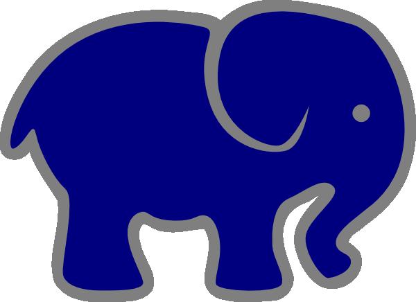 gray elephant free clip art - photo #26