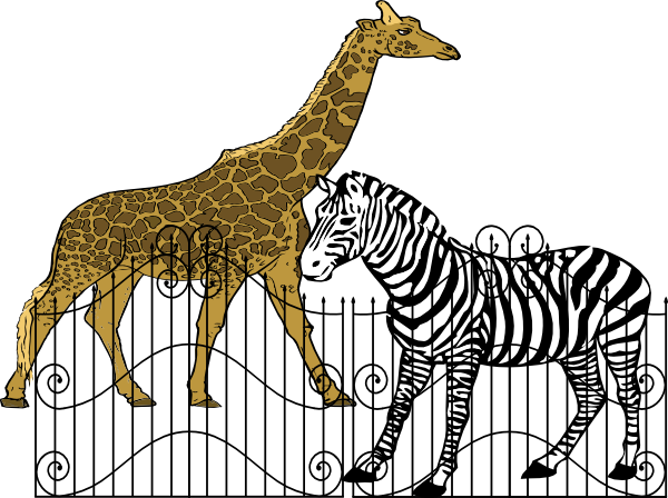 free clipart zoo animals - photo #39