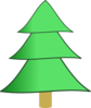 3 Layer Fir Tree Clip Art