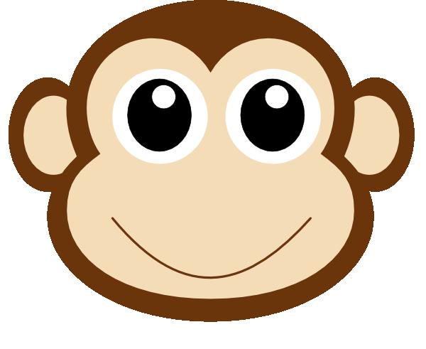 Monkey 1 Clip Art at Clker.com - vector clip art online ...