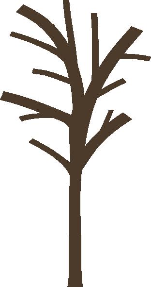 bare tree clip art at clker com vector clip art online royalty rh clker com bare tree clipart free bare tree trunk clipart