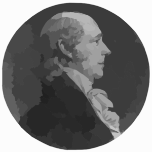 [william Madison, Head-and-shoulders Portrait, Right Profile] Clip Art