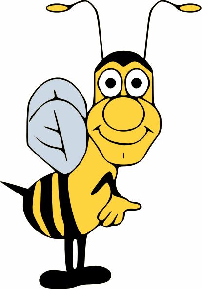 Funny Bumble Bee Clip Art At Clkercom Vector Clip Art Online