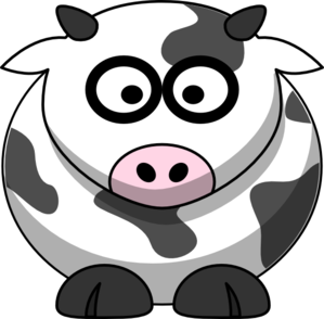 Little Cow Clip Art