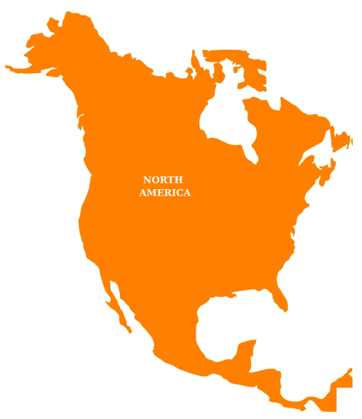 Primary Source: North America Outline Map Electronic Edition Located ...