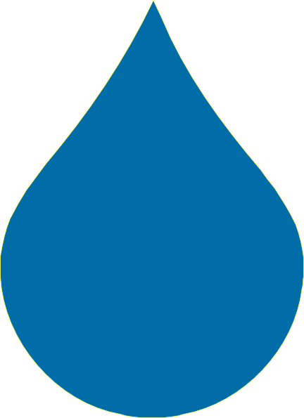 Blue Drop Clip Art at Clker.com - vector clip art online, royalty free ...