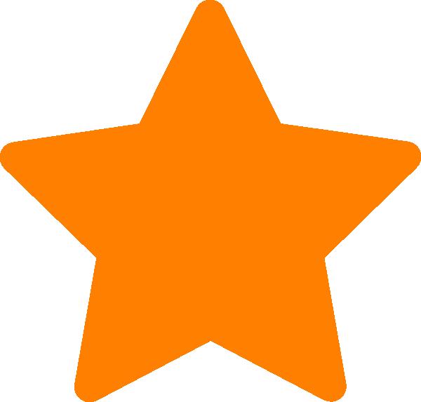 star orange clip art at clker com vector clip art online royalty rh clker com Gold Star Clip Art Blue Star Clip Art