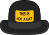 This Is Not A Hat Clip Art