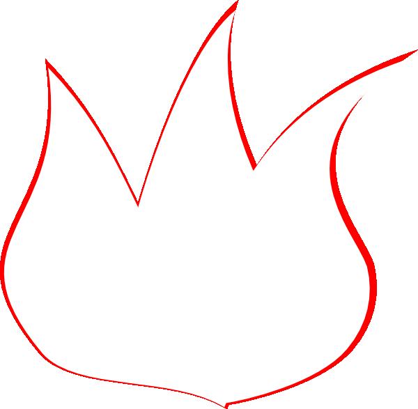 Flame Outline Clip Art...