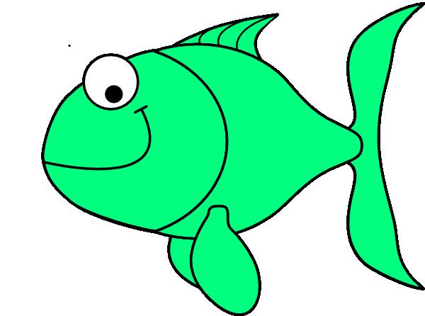 Green Fish Clip Art at Clker.com - 38.7KB