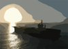 Uss Nimitz (cvn 68), Returns Home To San Diego Clip Art