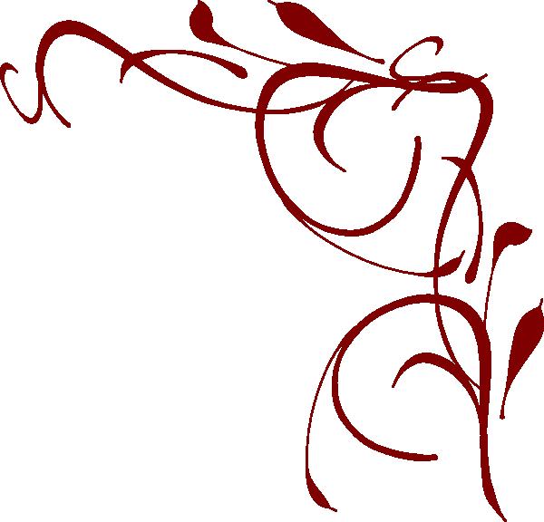 Corner Swirl Clip Art at Clker.com - vector clip art online, royalty ...