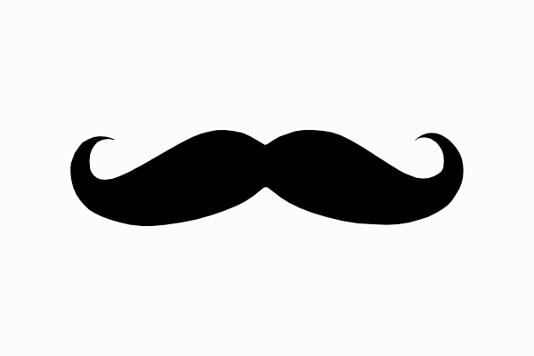free vector mustache clip art - photo #16