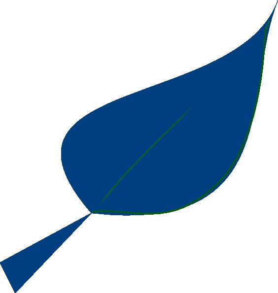 on leaf blue - photo #27