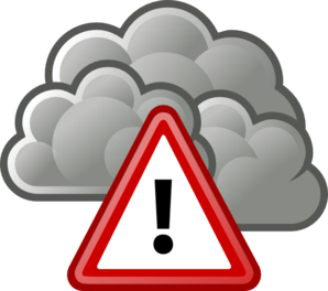 Tango weather severe alert clip art