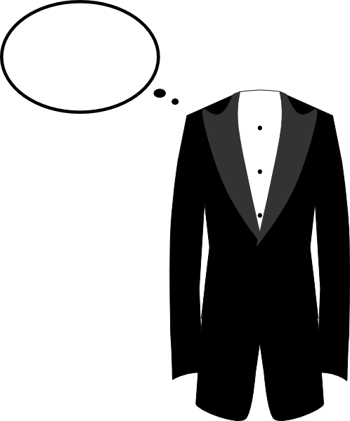 tuxedo clip art at clker com vector clip art online royalty free rh clker com bride and groom clipart silhouette bride and groom clipart silhouette
