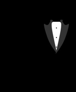 Tuxedo Clip Art at Clker.com - vector clip art online, royalty free ...