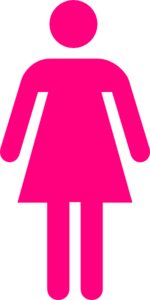 Pink Female Clip Art
