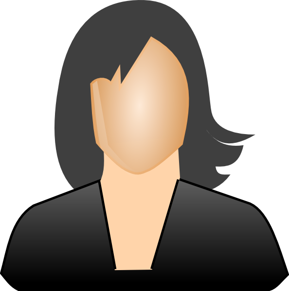 Free Clip Art Of Business Woman