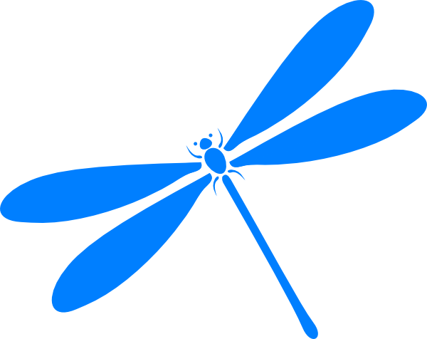Dragonfly In Flight Clip Art at Clker.com - vector clip art online ...