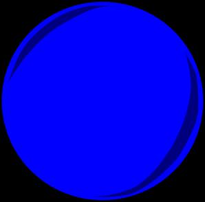 Blue Pool Ball Clip Art At Clker Com Vector Clip Art