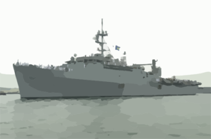 Uss Ogden (lpd 5) Leaves Naval Station, San Diego To  Begin A Regularly Scheduled Deployment Clip Art