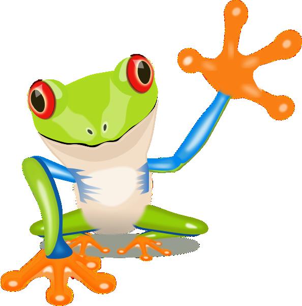 Lg Frog Clip Art at Clker.com - vector clip art online ...