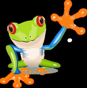 lg frog clip art at clker com vector clip art online royalty free rh clker com frog in tree clipart green tree frog clipart