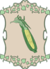Garden Sign Corn Clip Art