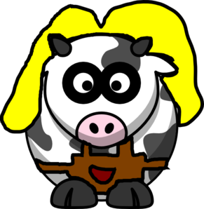 Mother Cow Clip Art