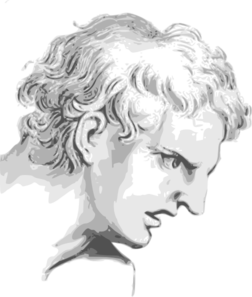 Face Expression Roman Man Clip Art