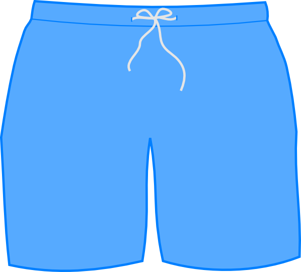 Swim Shorts Clip Art at Clker.com - vector clip art online, royalty ...