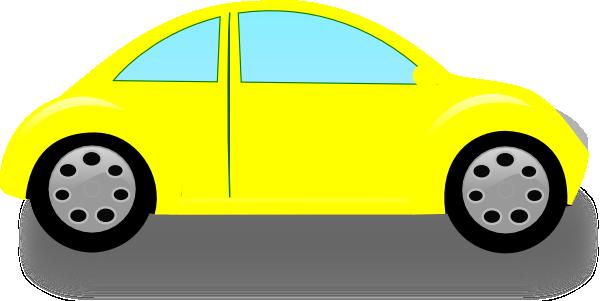 Beetle Yellow2 Clip Art at Clker.com - vector clip art ...