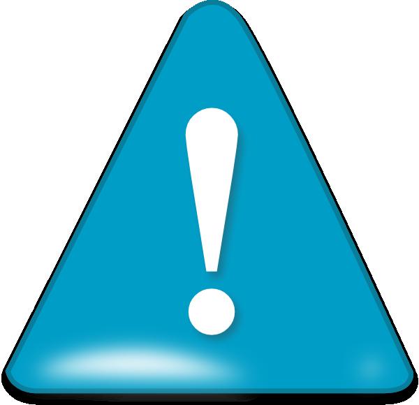 attention in blue clip art at clker com vector clip art attention clipart attention clip art free