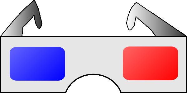 3d Glasses Clip Art at Clker.com - vector clip art online ...