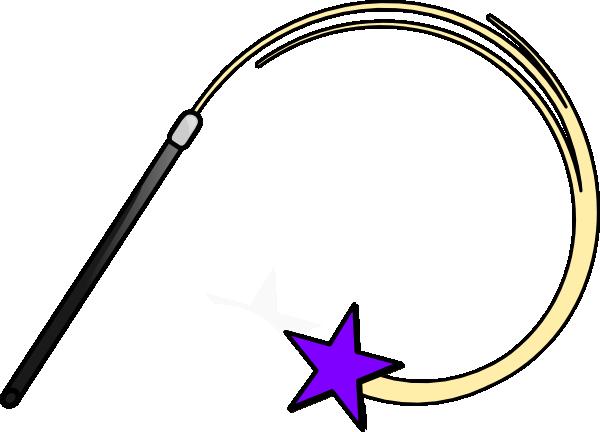 Magic Wand Purple Clip Art at Clker.com - vector clip art online ...