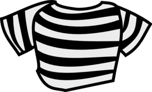 Black Striped Shirt Clip Art