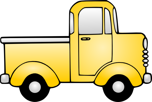free clip art cartoon trucks - photo #1