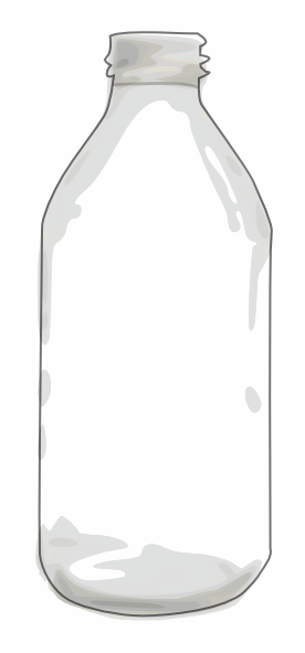 Clear Bottle Clip Art at Clker.com - vector clip art ...