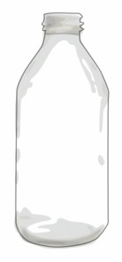Clear Bottle Clip Art