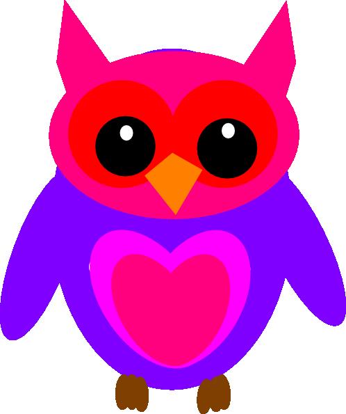 hot pink owl clip art at clker com vector clip art pink baby owl clip art pink baby owl clip art