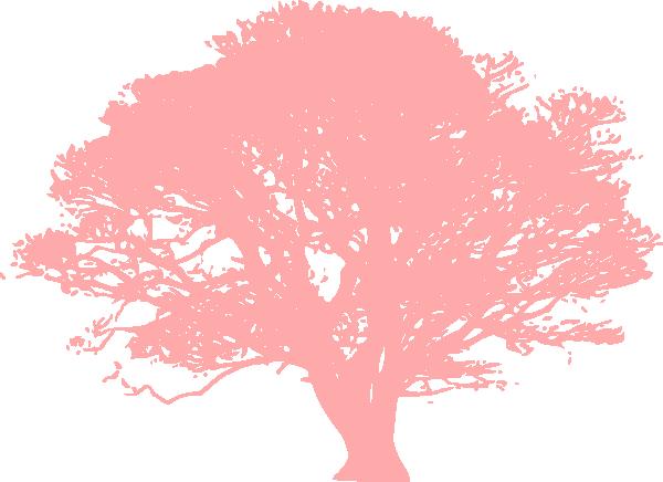 pink tree love clip art at clker com vector clip art online rh clker com pink palm tree clip art Pink Family Tree Clip Art