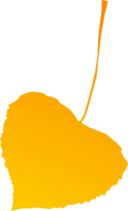 Autumn Leaf Yellow Clip Art