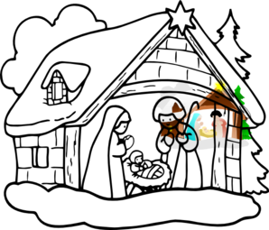 manger house clip art at clker com vector clip art online royalty rh clker com manger clipart christian manger clipart images