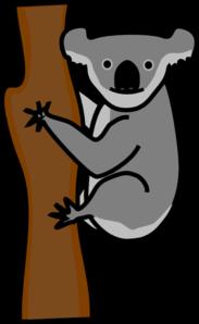 Koala Clip Art at Clker.com - vector clip art online, royalty free ...