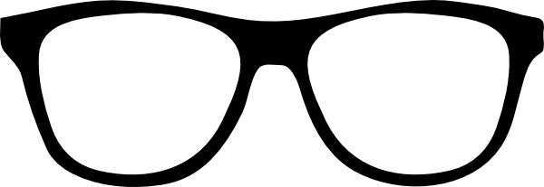 Black Frame Glasses Vector : Black Glasses Clip Art at Clker.com - vector clip art ...