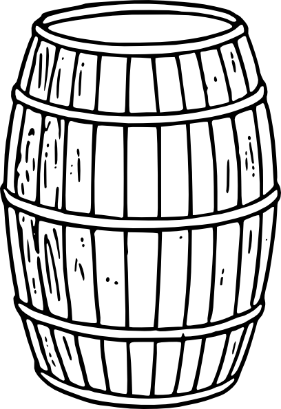 Barrel clip artWhiskey Barrel Drawing