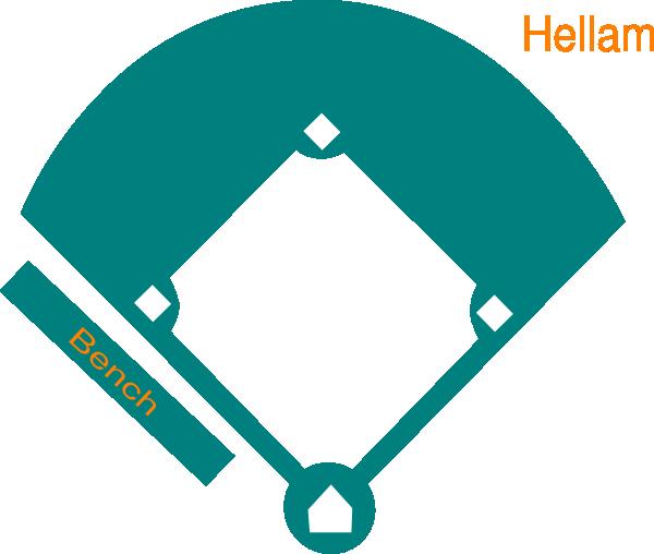 baseball field blue clip art at clker com vector clip art online rh clker com Baseball Graphics Baseball Clip Art