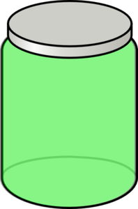 Green Jar Clip Art
